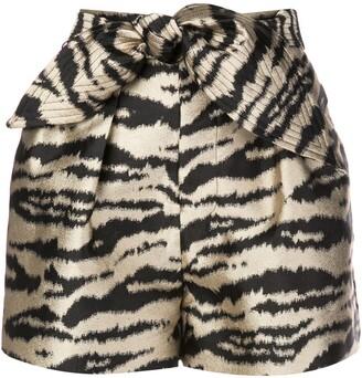 Cynthia Rowley Davina pleated shorts