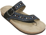 White Mountain Jeweled Thong Sandals - Harbour