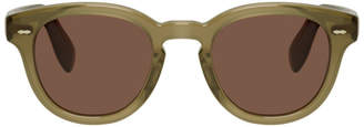 Oliver Peoples Green and Red Cary Grant Edition OV5413U Sunglasses