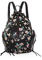 Rebecca Minkoff Julian Floral Medium Leather Backpack - 100% Exclusive
