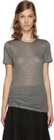 Isabel Marant Grey Madras T-shirt