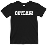 Urban Smalls Black 'Outlaw' Crewneck Tee - Toddler & Boys