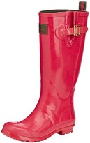 Joules Women's Field Welly Gloss Rain Boot