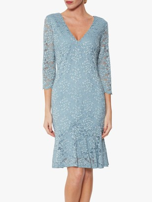 Gina Bacconi Nadalie Tailored Lace Dress