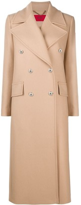 HUGO BOSS Double-Breasted Trench Coat