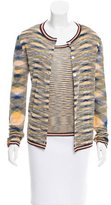 Missoni Abstract Patterned Knit Cardigan Set