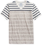 American Rag Men's Two Tone Stripe T-Shirt, Only at Macy's
