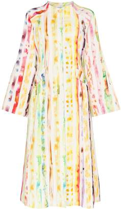 Rosie Assoulin Watercolour effect coat dress