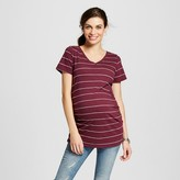 Liz Lange for Target Maternity Striped V-Neck Tee