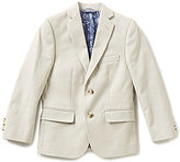 Class Club Big Boys 8-20 Notch-Lapel Twill Blazer