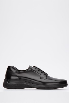 Prada Lace Up Sneakers