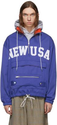 Landlord Blue New USA Anorak Jacket