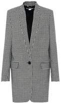 Stella McCartney Houndstooth wool coat