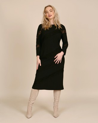 Dolce & Gabbana Long Sleeve Midi Dress