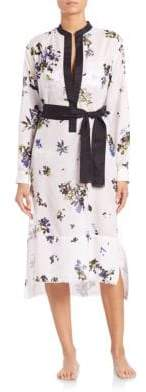 Proenza Schouler Voile Shirtdress Coverup