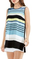 Vince Camuto Women's Stripe Sleeveless Top