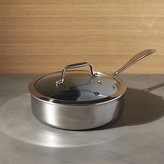 Crate & Barrel ZWILLING ® J.A. Henckels VistaClad Ceramic Non-Stick 3 qt. Sauté Pan with Lid