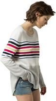 Tommy Hilfiger High Low Stripe Sweater