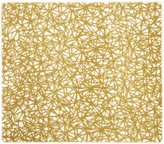 Modern Twist Silicone Placemat, Twine, Gold - Gold
