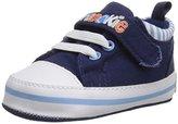 Gerber Navy Canvas Low Top Sneaker (Infant)