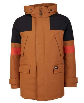 Kenzo Contrast Hooded Parka Colour: Tan Navy, Size: SMALL