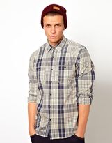 Selected Shirt With Mix Check