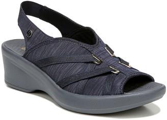 Bzees Peep-Toe Slingback Sandals - Firefly