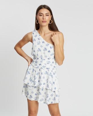 MinkPink Moonstone One-Shoulder Dress