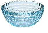 Guzzini Tiffany Collection Extra Large Serving Bowl, 169-Fluid Ounces, Sea Blue