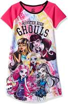 "Monster High Big Girls' ""Squad Ghouls"" Nightgown - , 7-8"