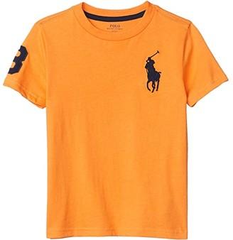 Polo Ralph Lauren Kids Big Pony Cotton Jersey Tee (Little Kids/Big Kids) (Thai Orange) Boy's Clothing