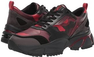 Michael Kors Ethan (Bright Red/Black) Men's Shoes