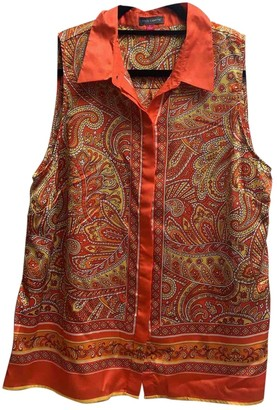 Vince Camuto Multicolour Silk Top for Women