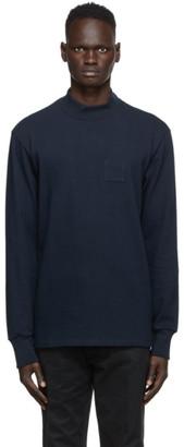 Aimé Leon Dore Navy Dimebag Long Sleeve T-Shirt