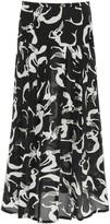 Thumbnail for your product : Rixo Nancy Midi Skirt