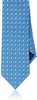 Salvatore Ferragamo Men's Bird-Print Silk Necktie