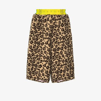 Duoltd Cheetah Print Shorts