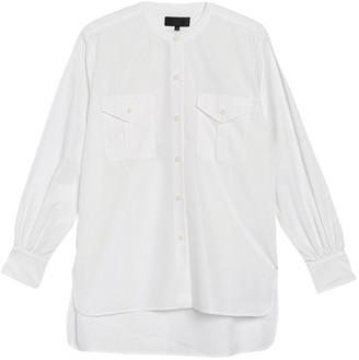 Nili Lotan Orlene Patch Pocket Shirt
