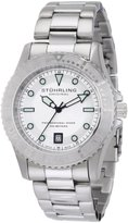 Stuhrling Original Men's 1161.33112 Watersports Regatta Sailor Swiss Made Quartz Divers Date Stainless Steel Watch