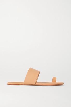 Gabriela Hearst Leather Sandals - Beige