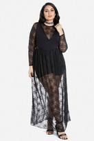 Fashion to Figure Nana Lace Maxi Dress