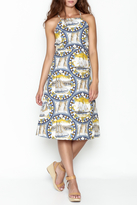 Pinkyotto Sailing Compass Tie Dress