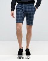 Noose & Monkey Super Skinny Smart Shorts