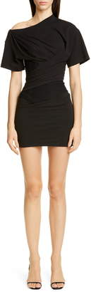Alexander Wang Draped T-Shirt Bustier Minidress