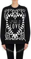 Givenchy Women's Power Of Love Sweatshirt-BLACK