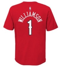 Jordan New Orleans Pelicans Youth Statement Name and Number T-shirt - Zion Williamson