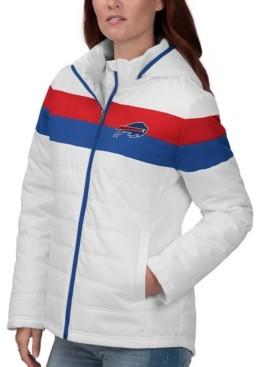 Buffalo David Bitton G-iii Sports Women's Bills Tie Breaker Polyfill Jacket
