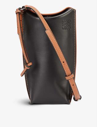 Loewe Gate Pocket leather shoulder bag