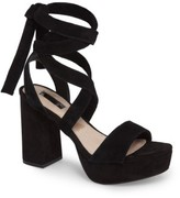 Topshop Women's Leonardo Lace-Up Platform Sandal