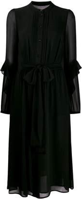 Michael Kors tie-waist shirt dress